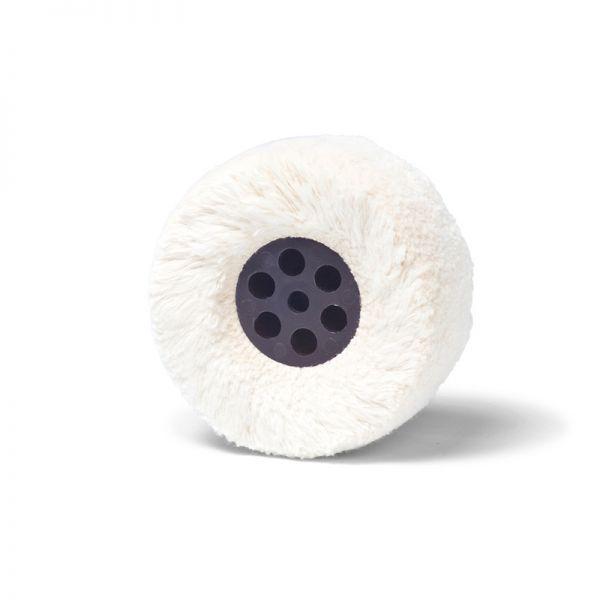 Polierrad Baumwolle gross - für Poliermotor 80 x 40 mm von bachmaier®