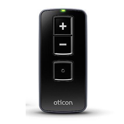 Oticon Remote Control 3.0 Schwarz Fernbedienung für Hörgeräte - Lautstärkeeinstellung, Programmwechsel & Stummschaltung