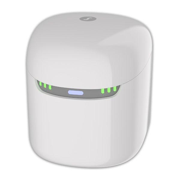 Signia Dry & Clean Charger für Pure C&G AX Hörgeräte 3-in-1-Lösung - Aufladen, Trocknen & Desinfizieren.