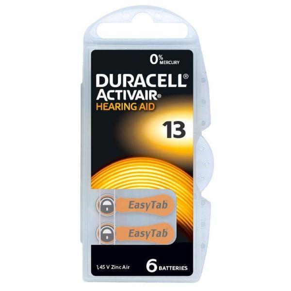 Hörgerätebatterie Duracell Activair 13