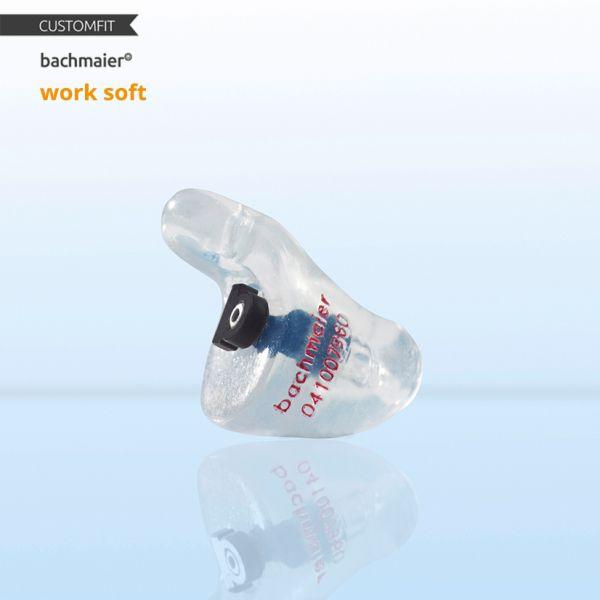 bachmaier® work alpha soft Arbeits Gehörschutz Customfit