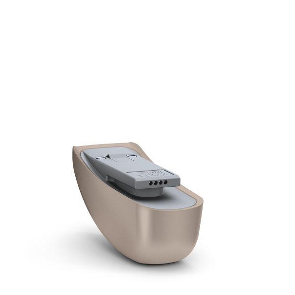 Phonak Roger 17 Empfänger für Cochlear Implantate Naida CI (AB) - Farbe P1 Sand Beige