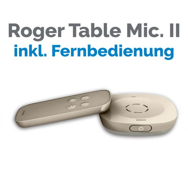 Phonak Table Mic II ™ Mikrofon SET mit Fernbedienung