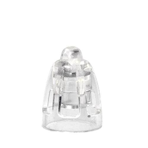 MiniFit Open Dome - Grösse 5 mm - Silikon-Schirme für Oticon & Bernafon Hörgeräte