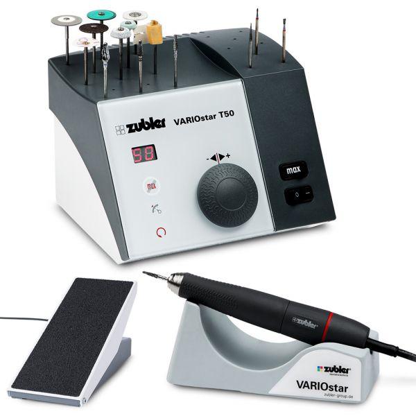 Fräsanlage Zubler VARIOstar T50 mit Fussteuerung - Fusspedal und Handfräser