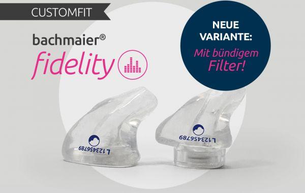 bachmaier® fidelity neu mit bündigem Filter und Griff
