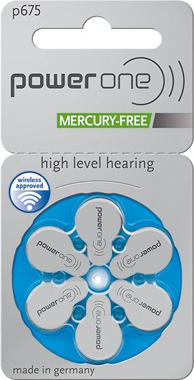 Power One p675 Zink-Luft Mercury-free