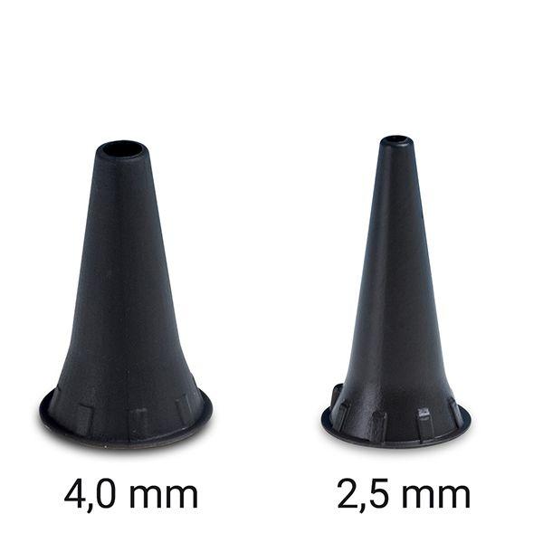 bachmaier oto-soft Otoskoptrichter ✓ 10 Stück Einweg-Tips in Grösse 4,0 mm oder 2,5 mm