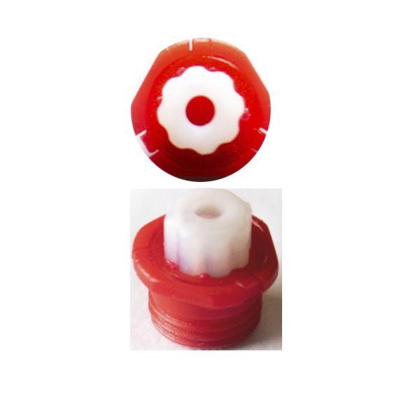 Oticon Cerumen-Schutz Wax-Buster Rechts (rot) - Lautsprecherfilter für Hörgeräte