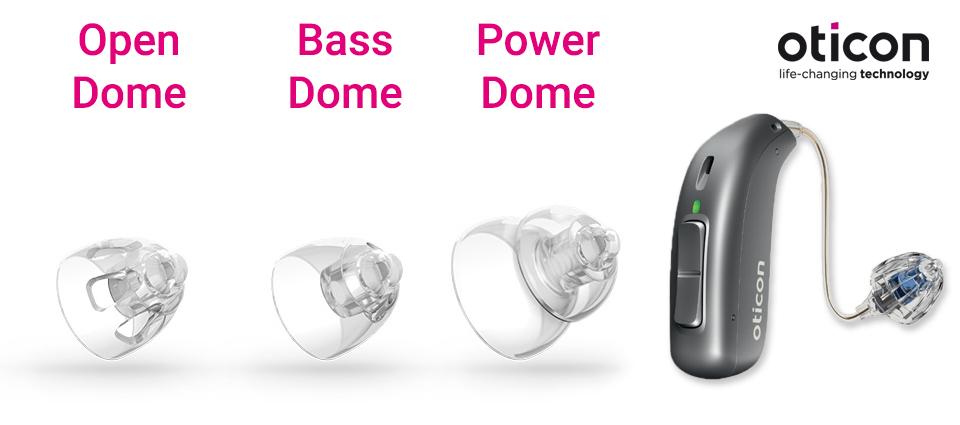 Oticon miniFit Dome Übersicht für Hörgeräte