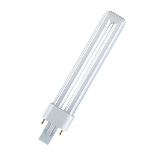 Leuchtmittel für UV Lampe - Osram Dulux S Blue 9W/71 G23 für Lichthärtegeräte von bachmaier®
